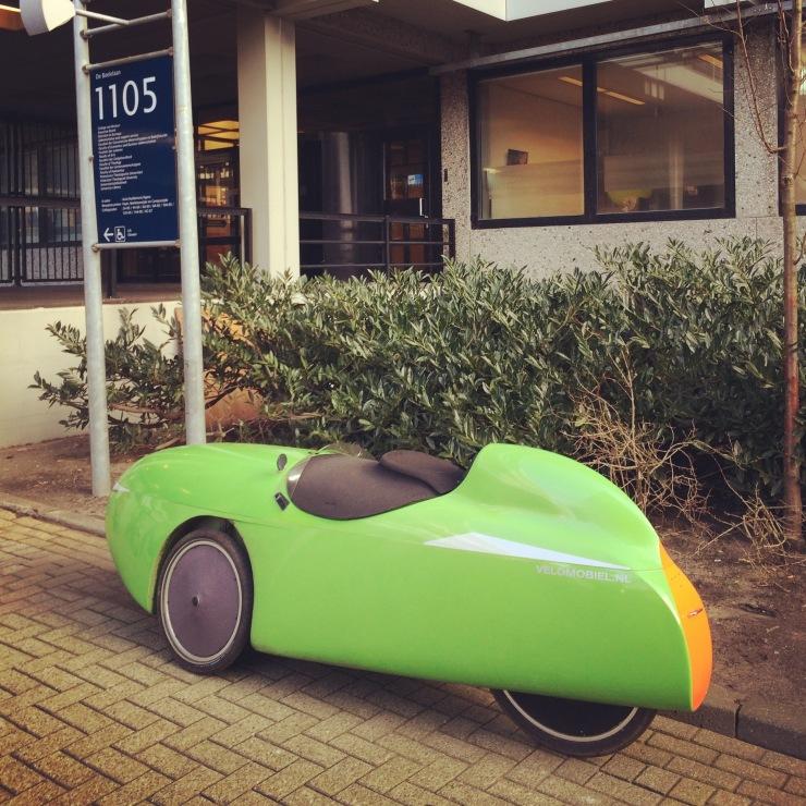Car, Vrie Universiteit, Amsterdam